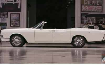 Jay Leno's Garage Features John Cashman and the 1966 Continental Convertible