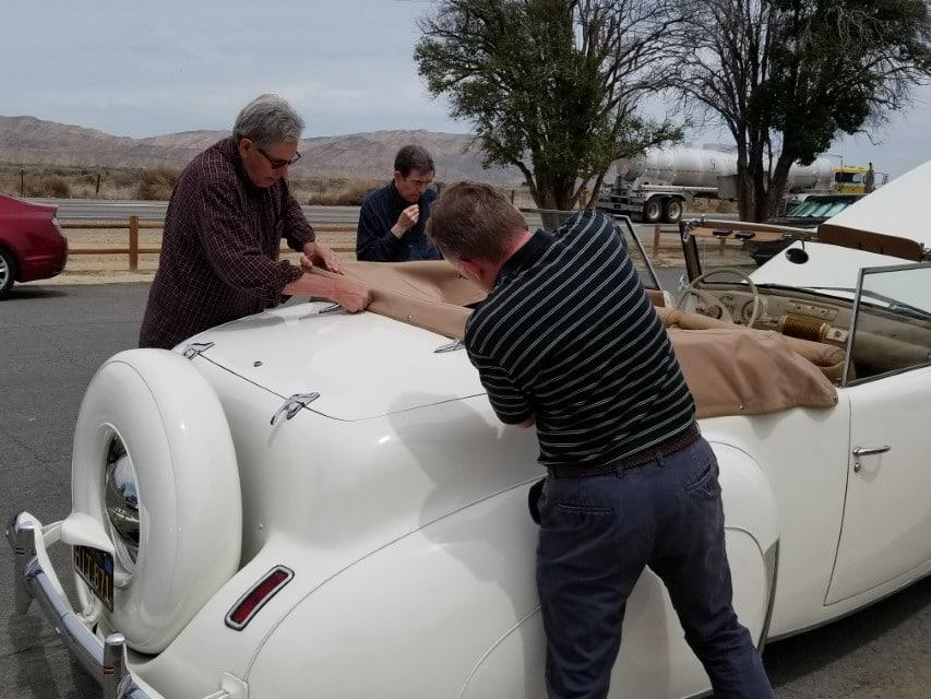 Ron Cressey and Ron Cressy adjust top (Custom)