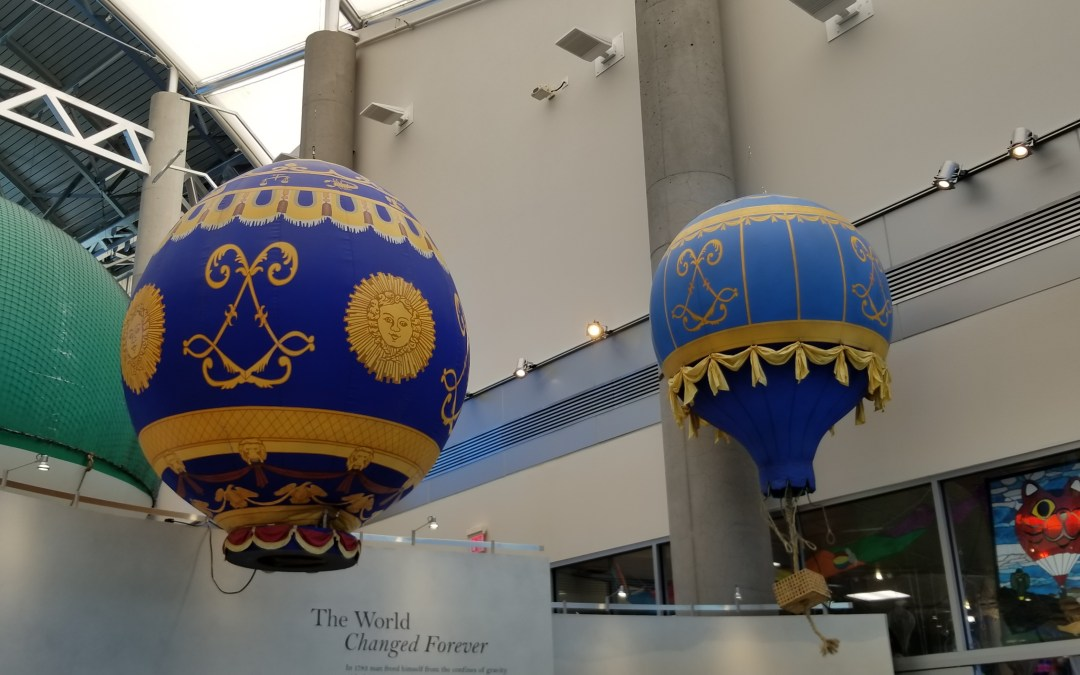 Balloon Museum Visit was a Flight of Fancy for LCOC Members
