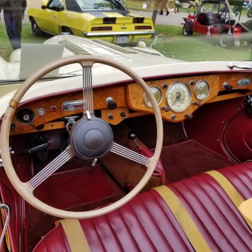 Sunbeam interior.