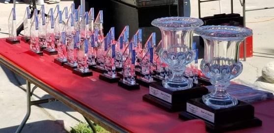 Lots of trophies...