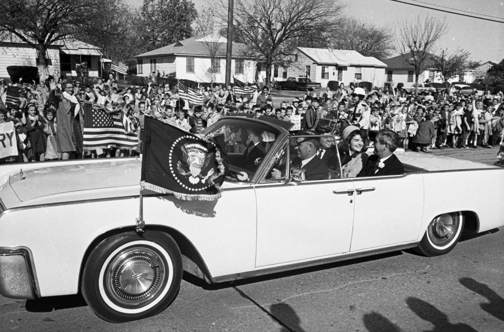 Historic JFK Convertible to Cross Auction Block