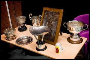 Club competition trophies