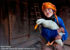 Lady with Goose - Gordon-Jenkins