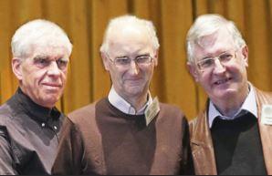 r-l: Howard Bagshaw (chair), Bryan Stubbs and Andy Polakowski