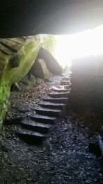 Une escalier secret