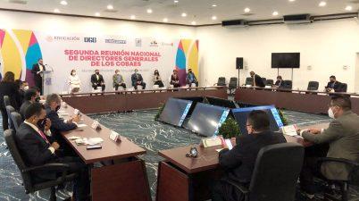 Segunda Reunión Nacional de Directores Generales de los Colegios de Bachilleres Estatales,