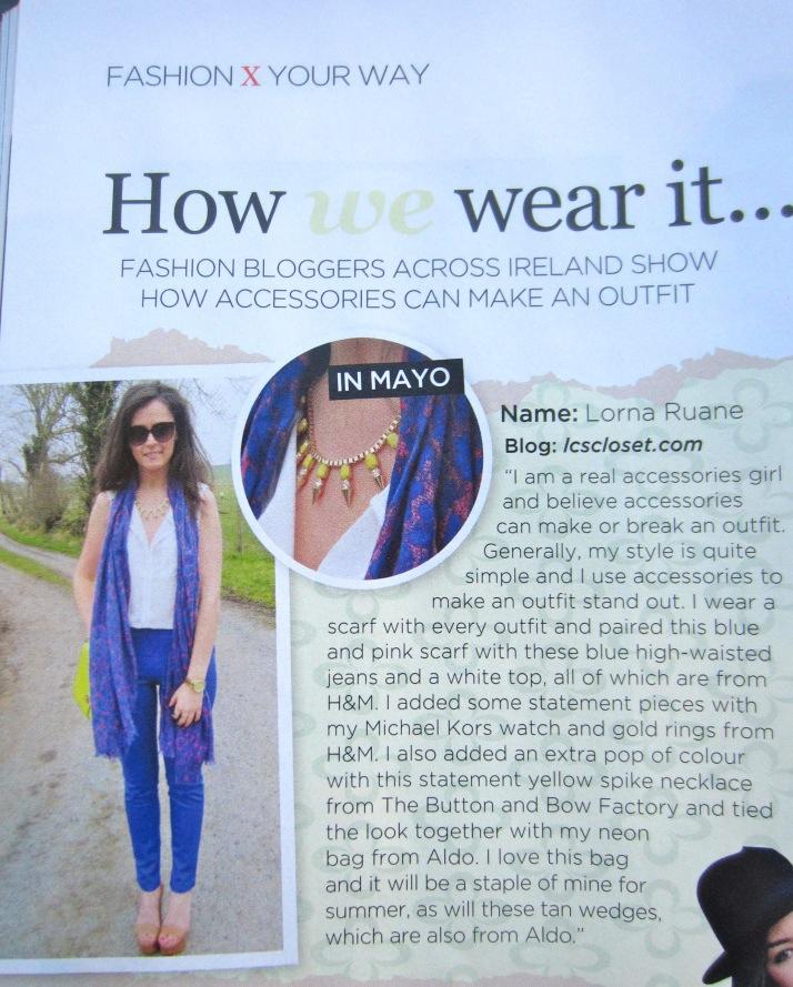 Irish Fashion Feature 1