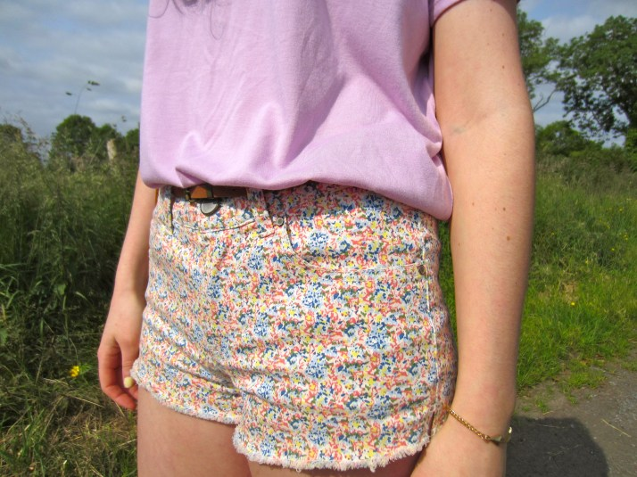Irish Fashion Floral Shorts 2
