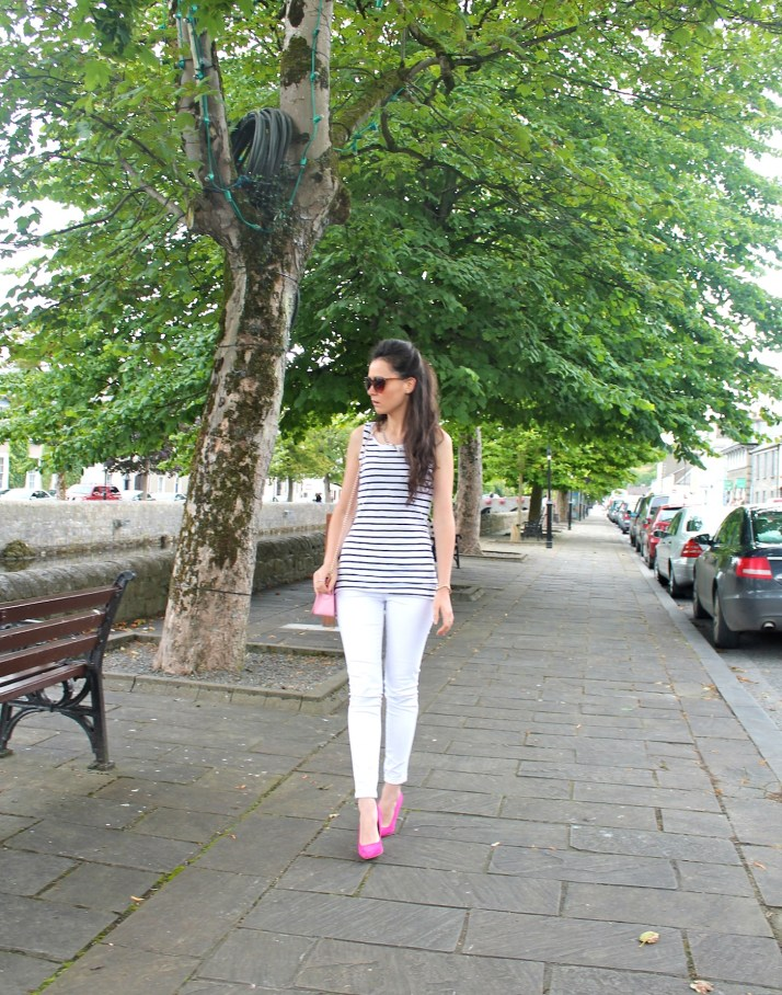 Irish Fashion Pink Stripes 1