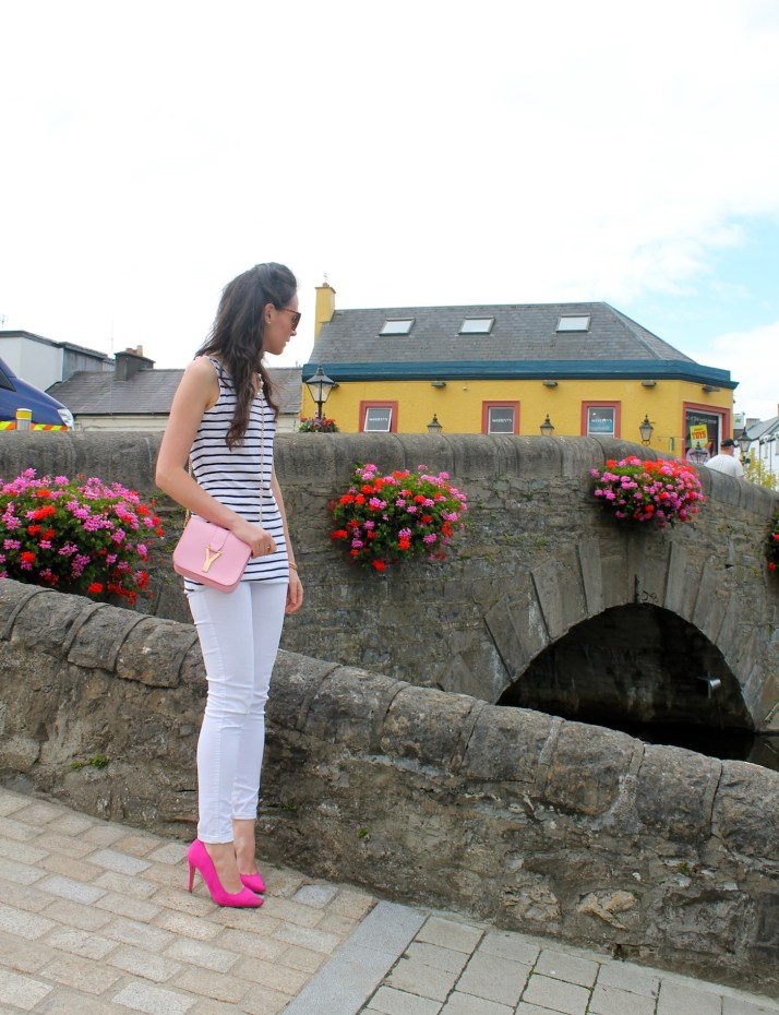 Irish Fashion Pink Stripes 17