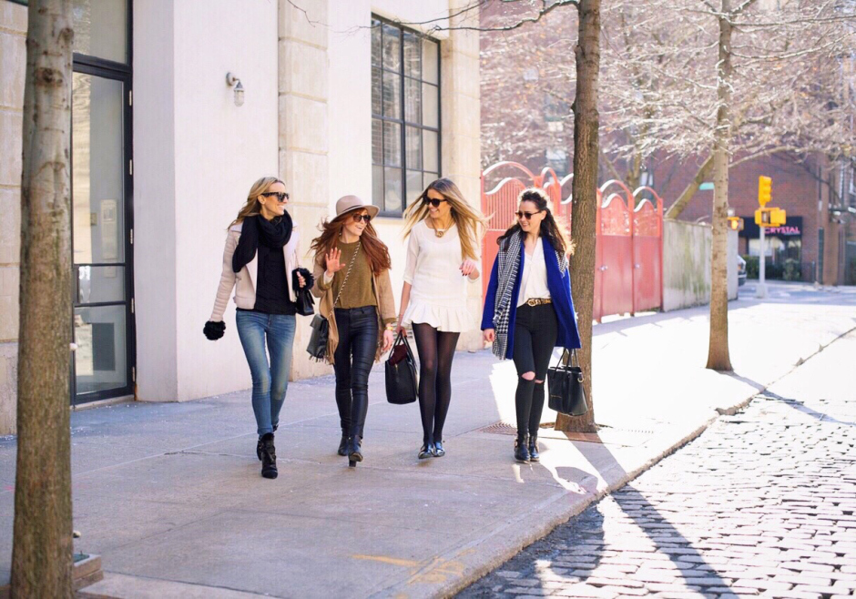 Why I started blogging: girls in the west village nyc