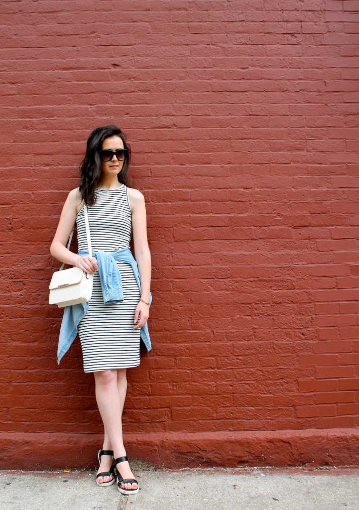 irish fashion: stripe dress 3