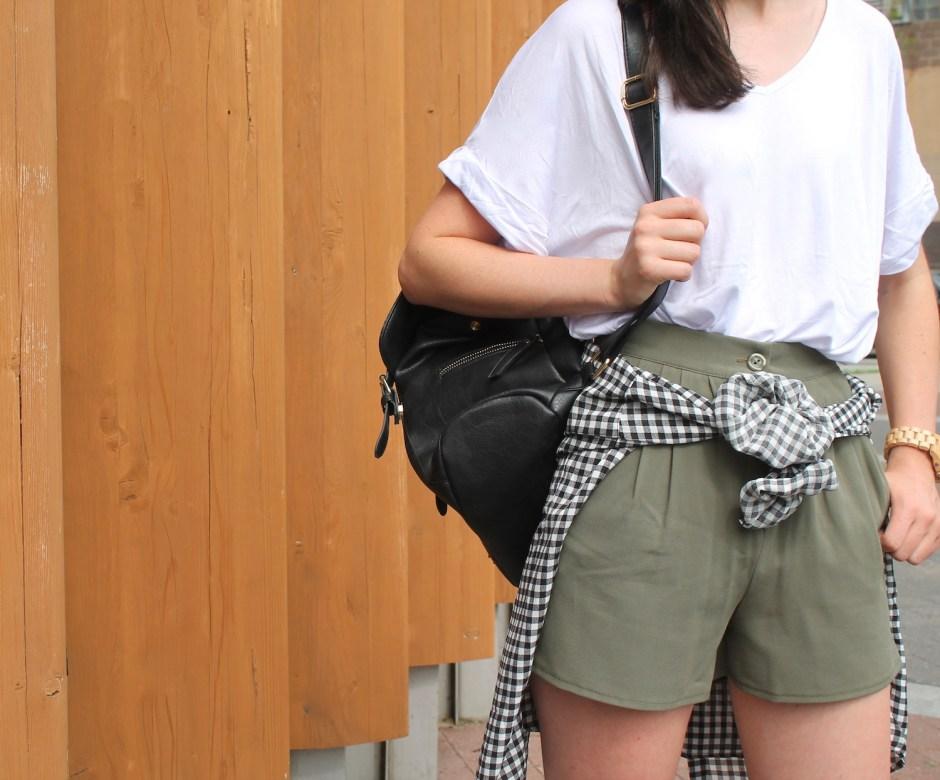 Khaki shorts 2