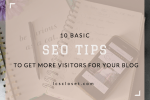10 basic seo tops for your blog