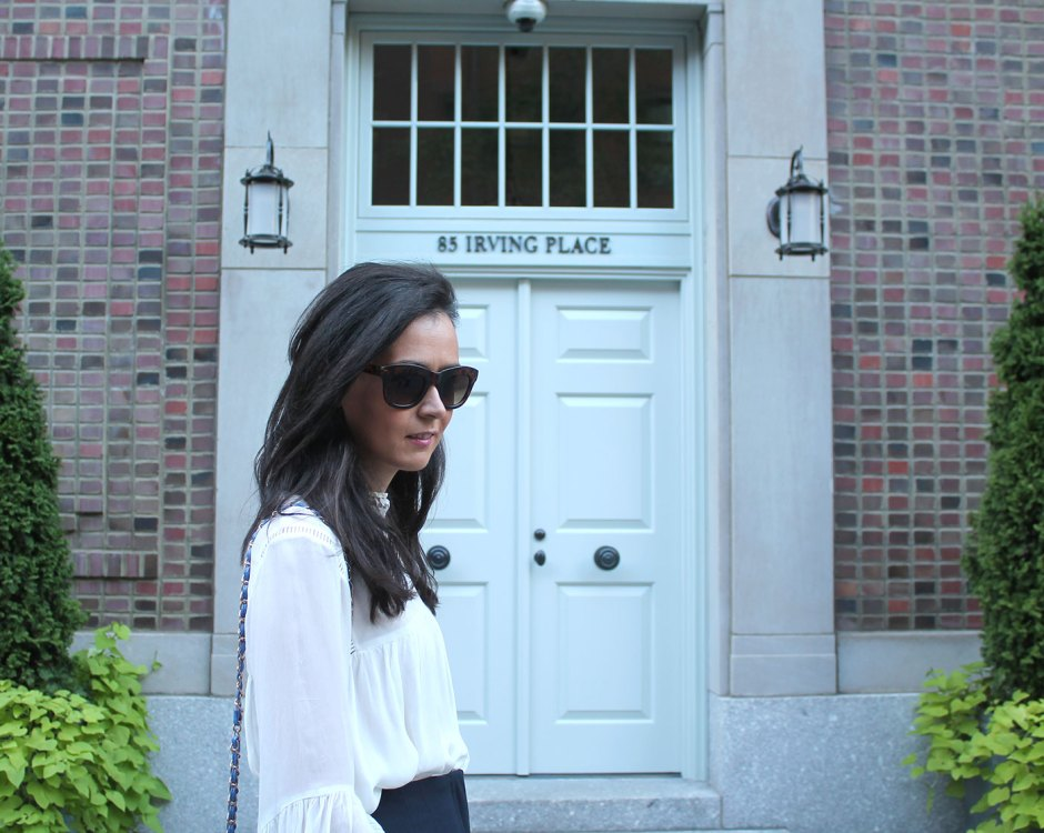 irish fashion: highneck chiffon top 2
