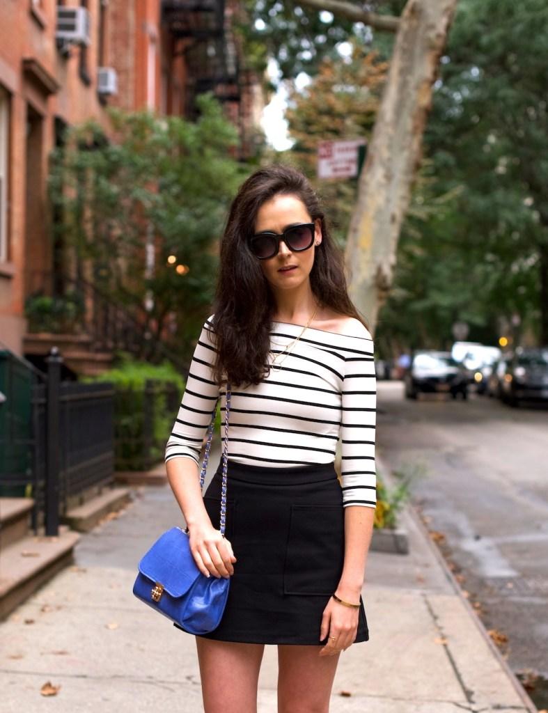 Irish fashion: Stripe Top and Lace Up Flats 4