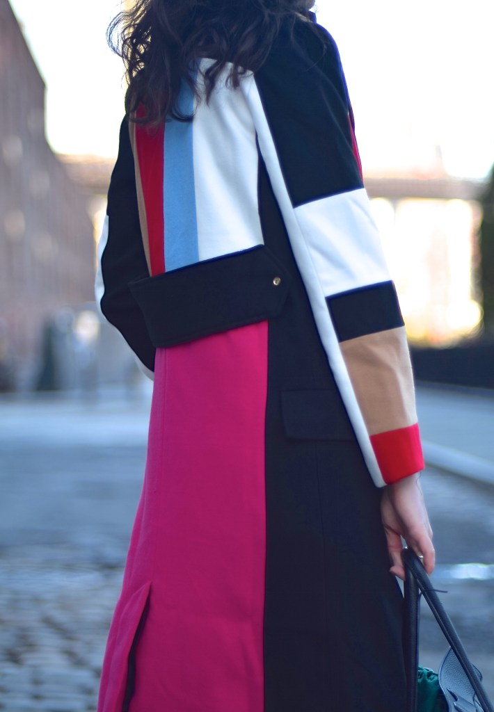 Colour Block Coat 23