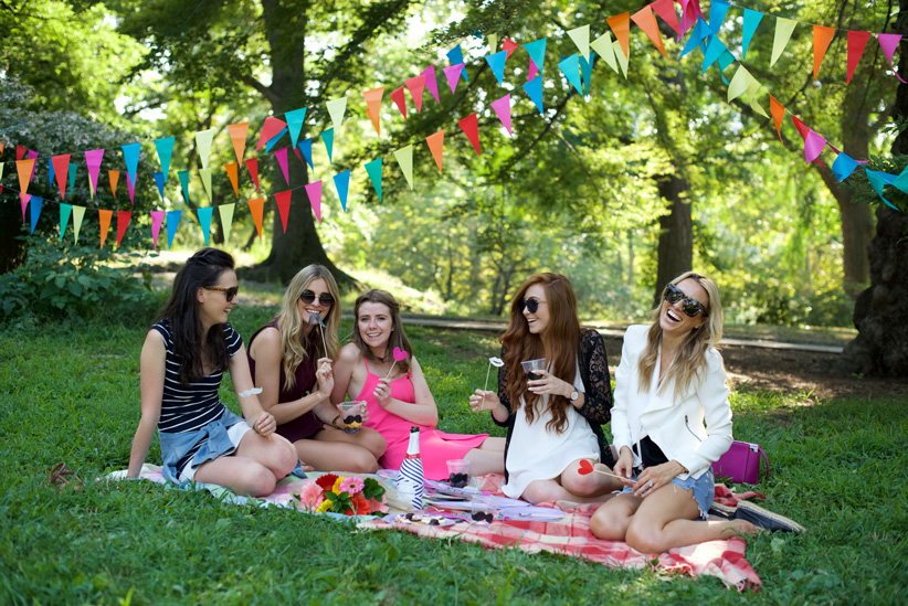 new york truths 4 - friends - central park picnic