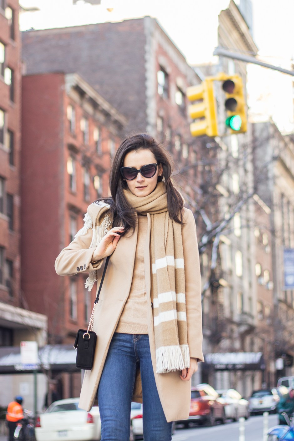 NYC Blogger: Setting goals and wearing camel with camel 8