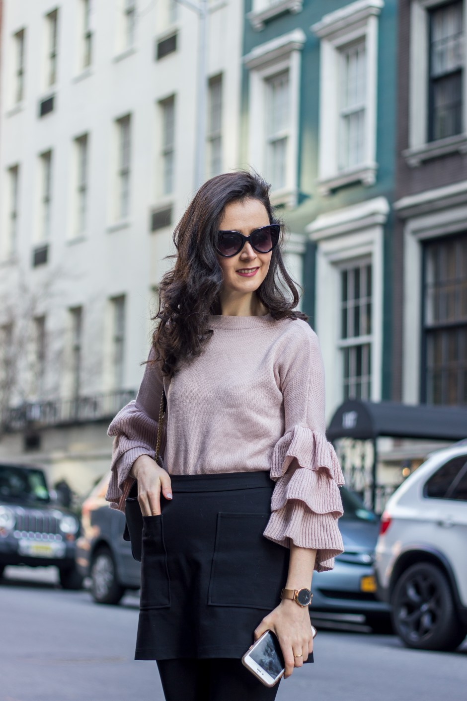 NYC Blogger: Bell Sleeve Sweater 12