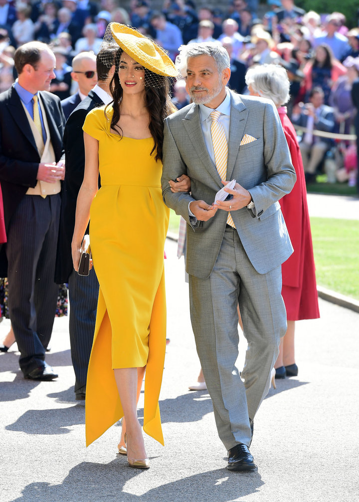 royal wedding george and amal cloonet