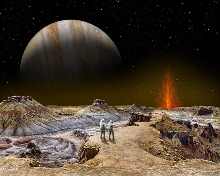 Shamshu Sojourn – Jupiter From Io