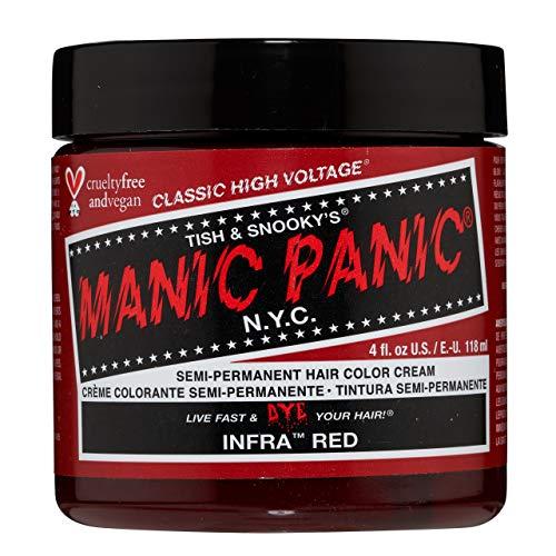 MANIC PANIC Cream Formula Semi-Permanent Hair Color - Infra Red