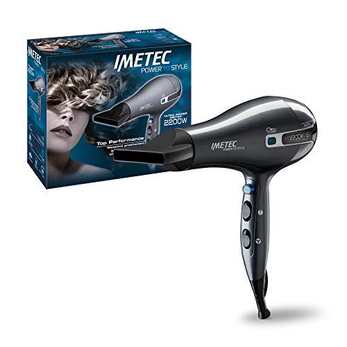 Imetec K5 Power To Style Asciugacapelli 2200 W, Asciugatura Veloce e Delicata, Tecnologia a Ioni per Idratare e Ridurre l'Effetto Crespo, 8 Combinazioni Aria/Temperatura, Colpo d'aria fredda