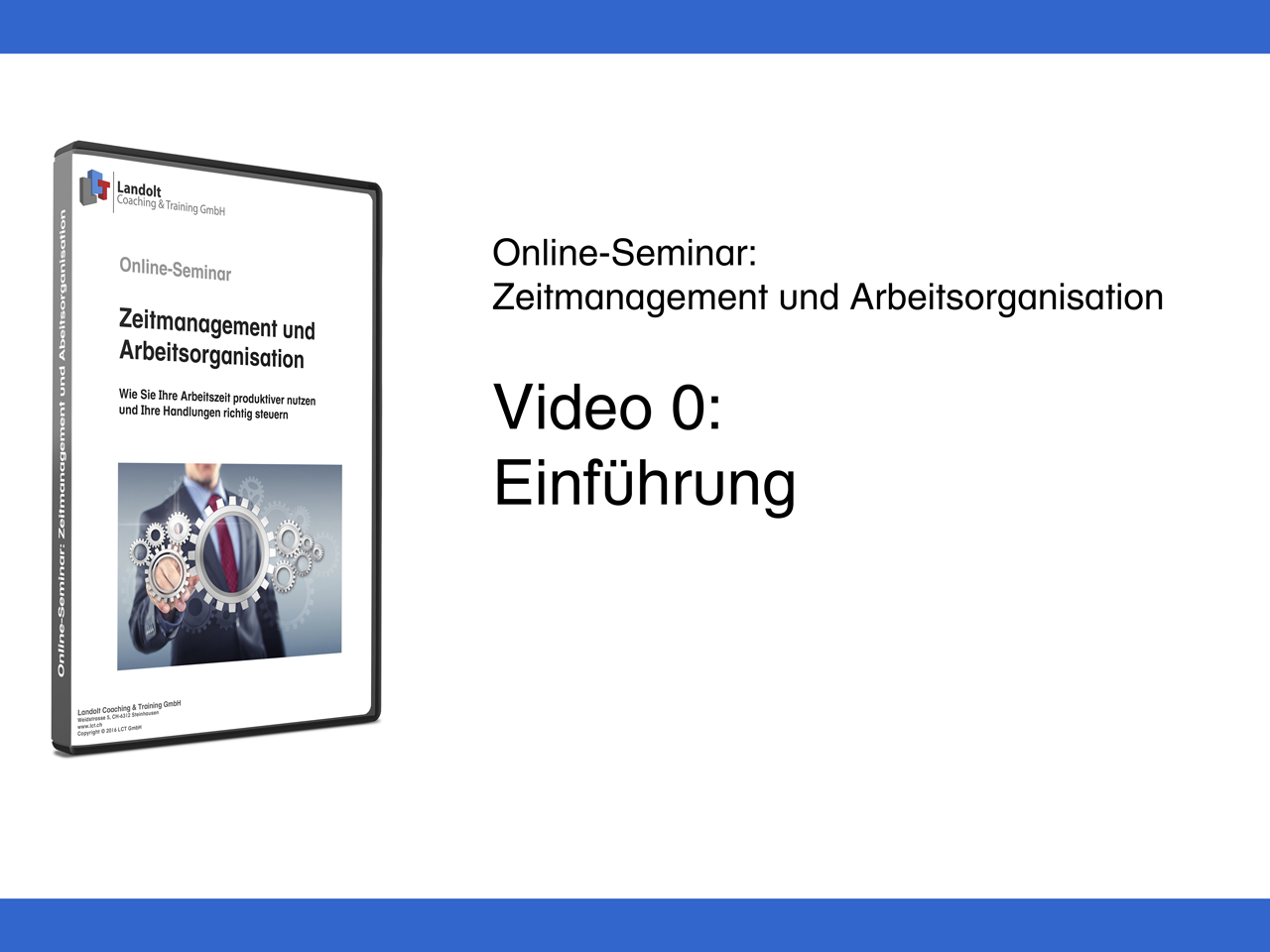 Einführung zun Online-Seminar