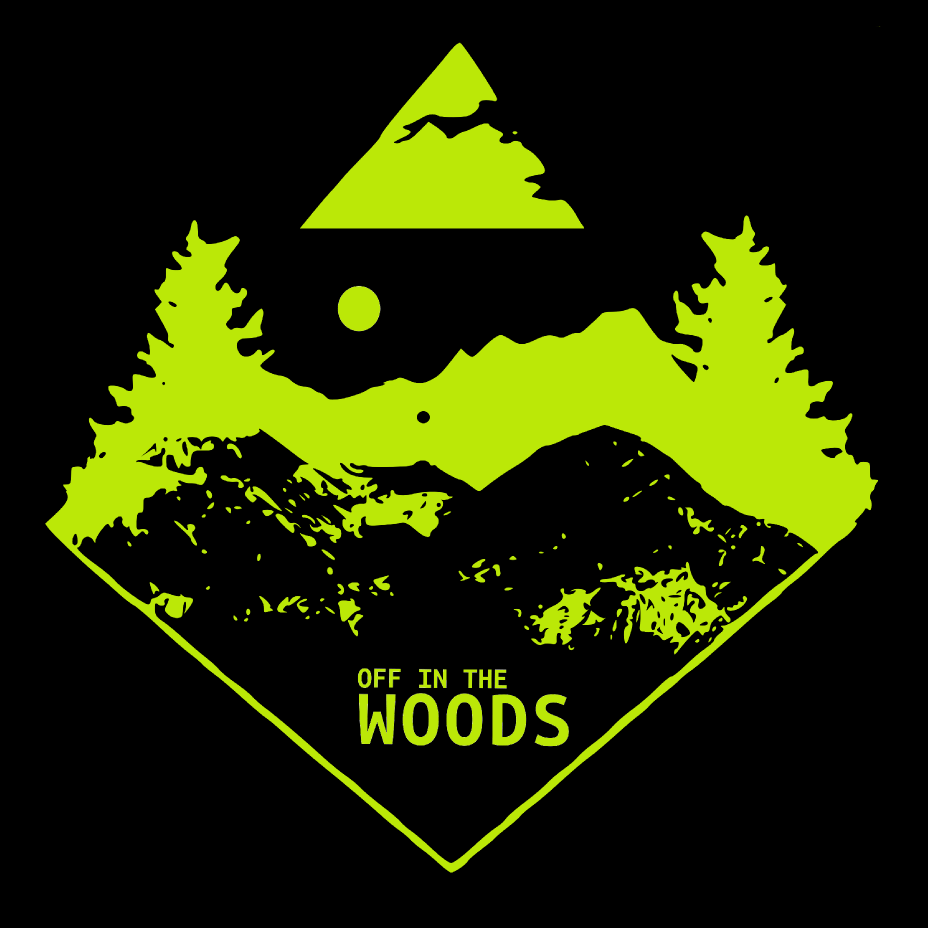 Off in the woods logo