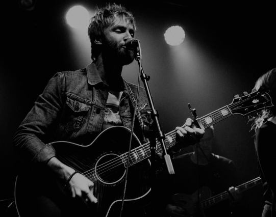 Paul McDonald black and white