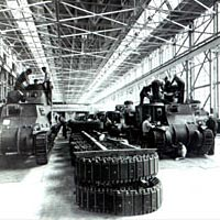 Early tank production at the Army Tank Aresenal