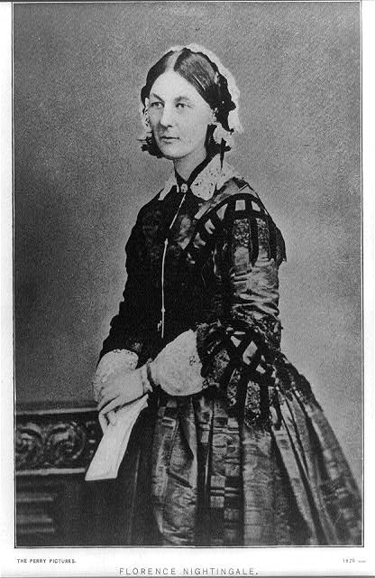 Florence Nightingale (Courtesy Library of Congress)