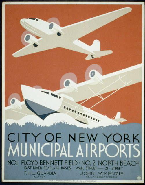 City of New York municipal airports No. 1 Floyd Bennett Field - No. 2 North Beach.