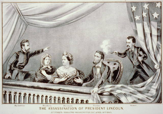 The assassination of President Lincoln: at Ford's Theatre, Washington, D.C., April 14th, 1865
