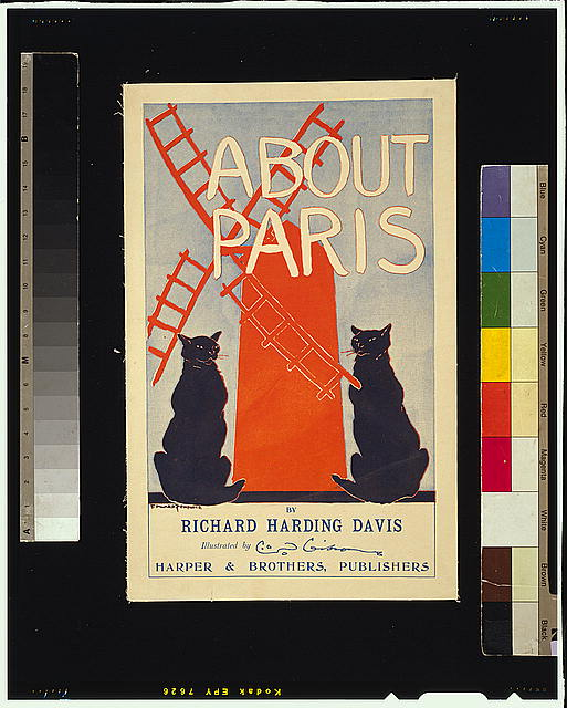 About Paris, by Richard Harding Davis, illustrated by O.D. Gibson