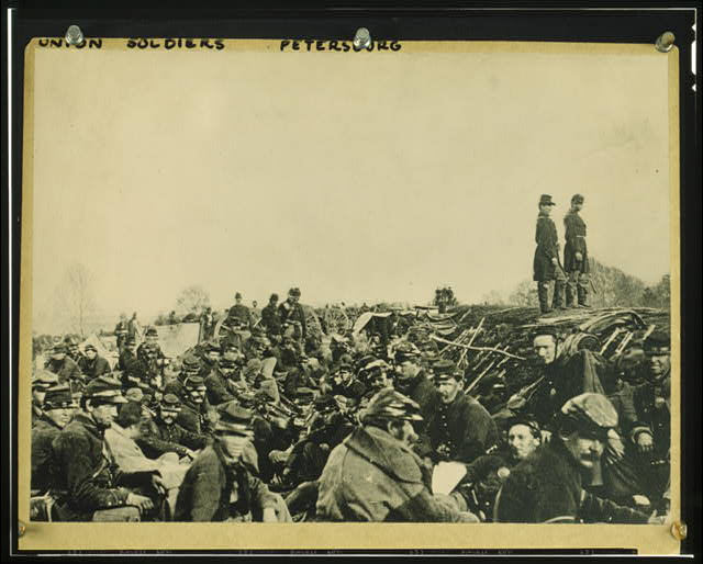 Union Soldiers at Fredericksburg, 1862