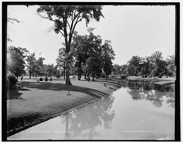 Belle Isle Park, Grand Canal