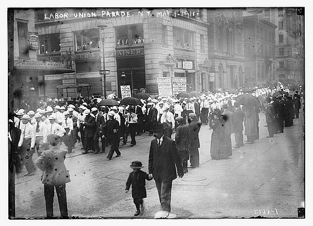 Labor union parade, NY., May 1, 1911