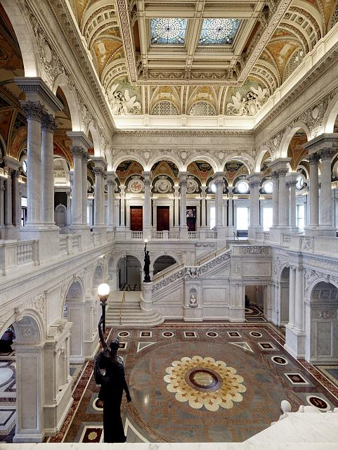 Great Hall of the Library of Congress, Thomas Jefferson Building - Carol Highsmith photo