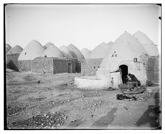 Bee-hive homes, Moselmeih, Syria