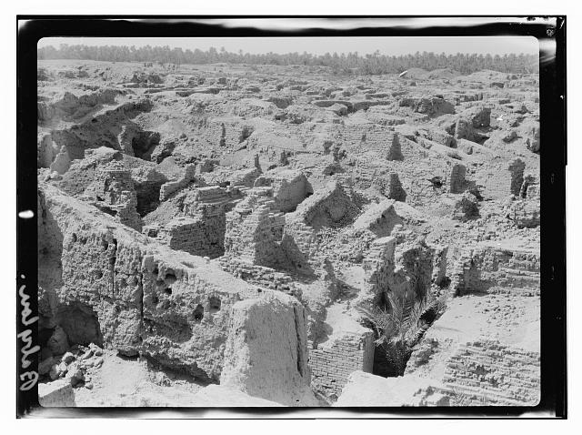 Babylon: a heap of ruins in the 1930s
