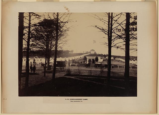 Convalescent camp, near Alexandria, Va.