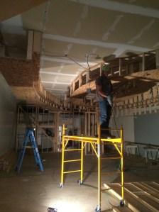 Retail Remodel in Progress by LD & B, LLC