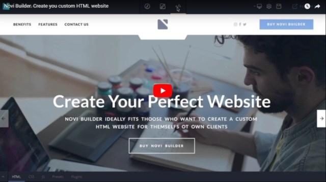 Novi - HTML Page Builder & Visual Content Editor - 1