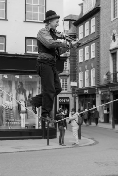 Street Performer Cambridge
