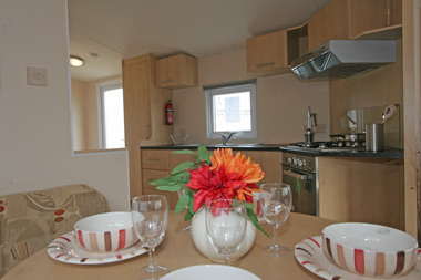 Dining kitchen in the Thornham