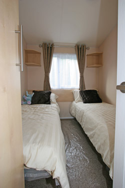 The Thornham's Twin Bedroom