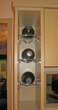ABI Kentmere wine rack in the kitchen
